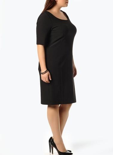 Beymen Plus Elbise Siyah